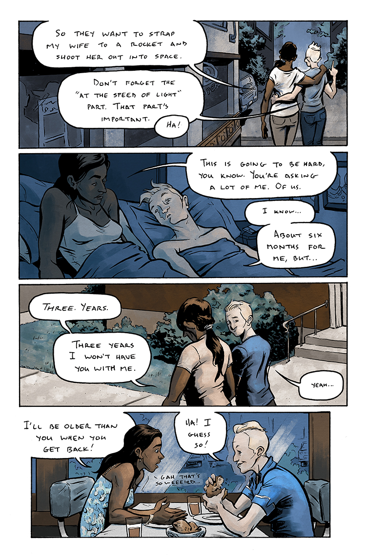 Relativity Page 2: Laying It Out
