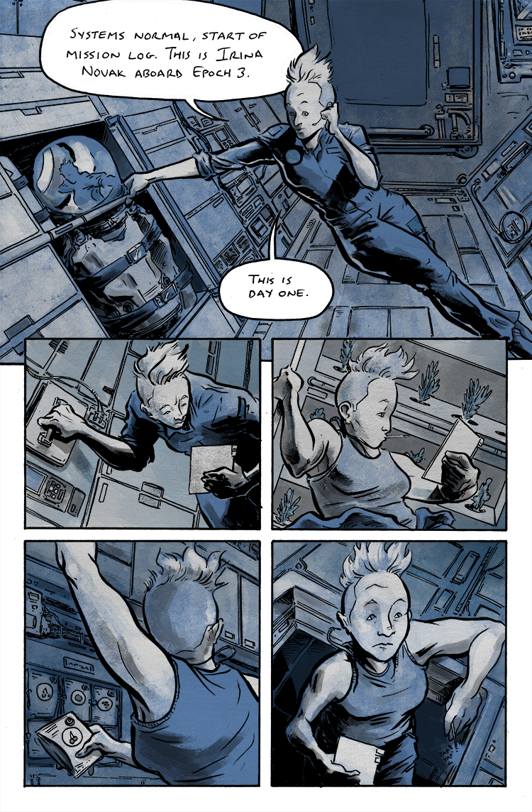 Relativity Page 12: Day One