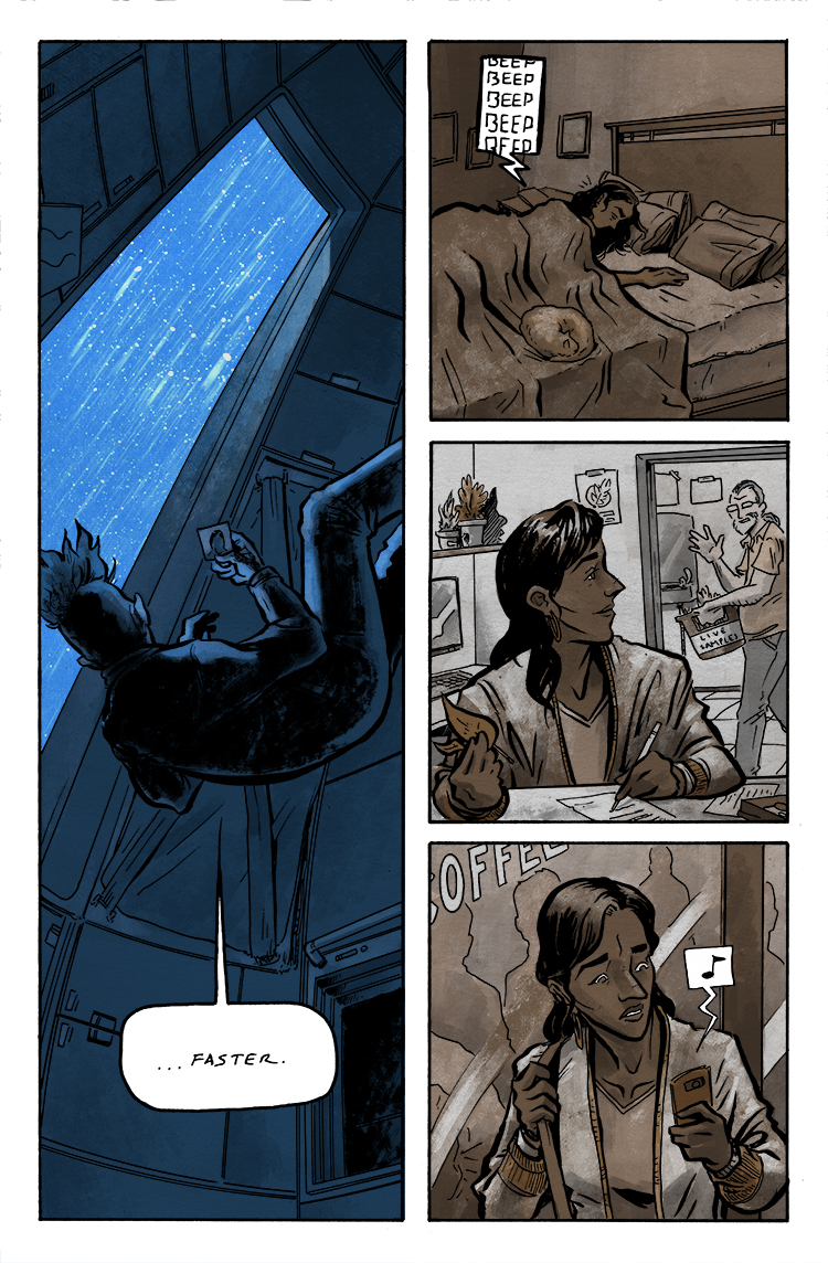 Relativity Page 14: Faster.