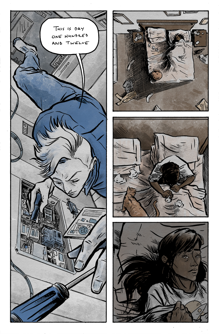 Relativity Page 19: Fixing