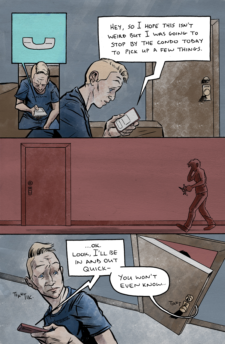 Relativity Page 28: Hope this isn't weird
