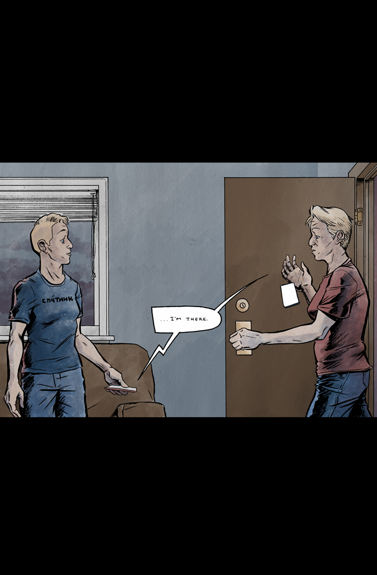 Relativity Page 29: I'm there