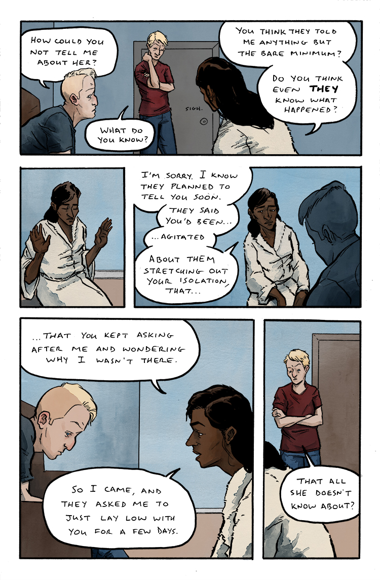 Relativity Page 4: Agitated