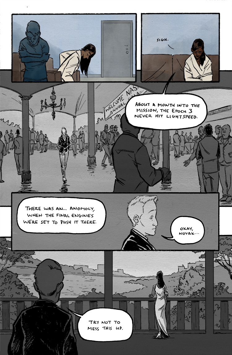 Relativity Page 9: Don't mess this up.