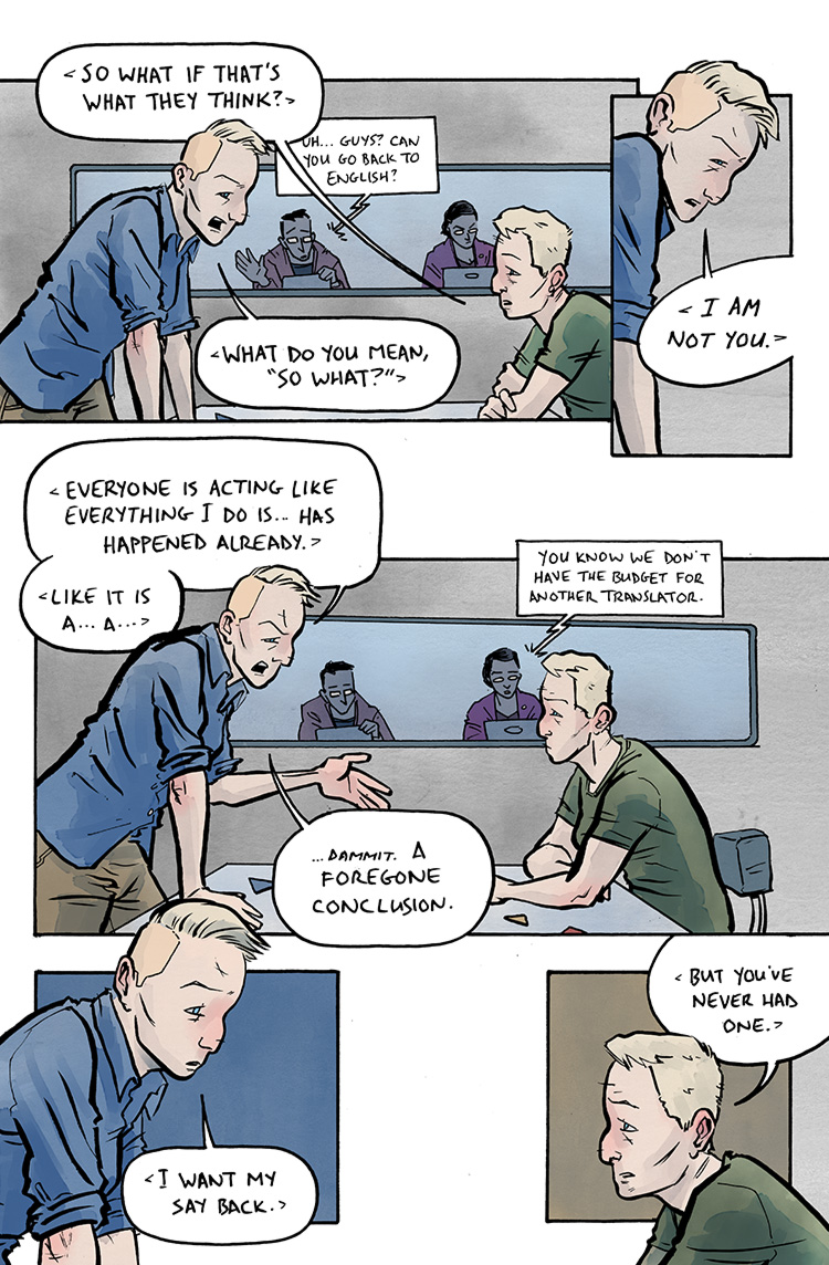 Relativity Page 34: Foregone conclusion