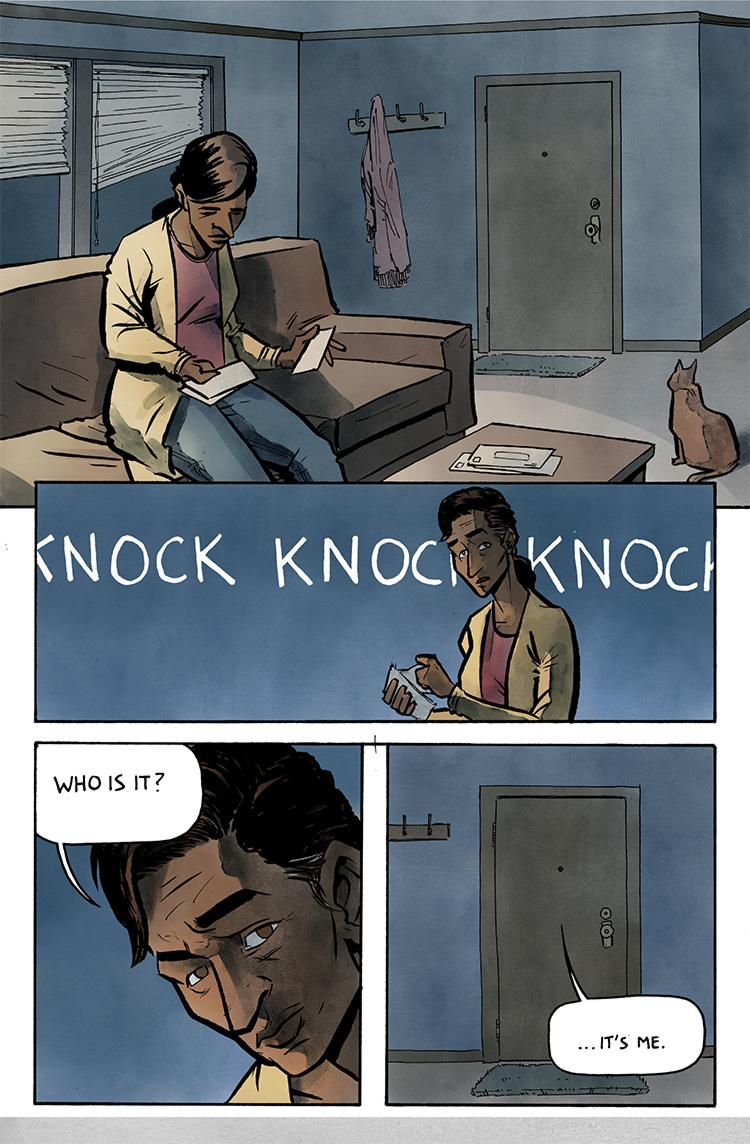 Relativity Page 36: Knock.