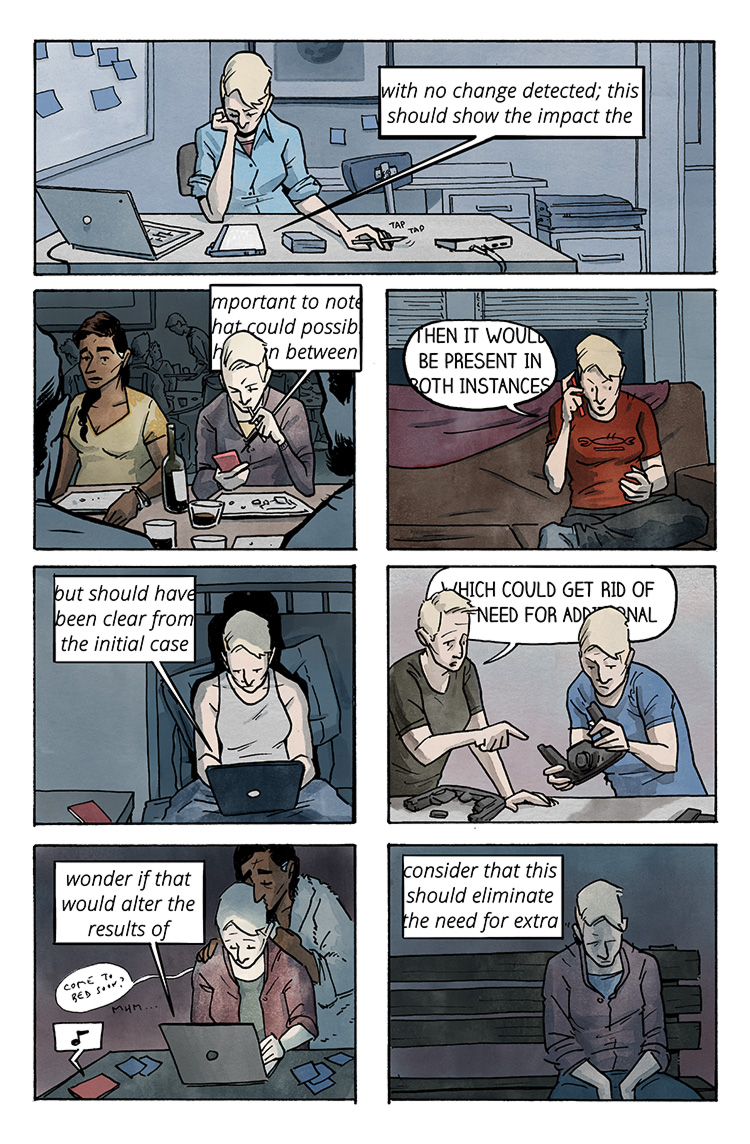 Relativity Page 50: Could/Would/Should 1